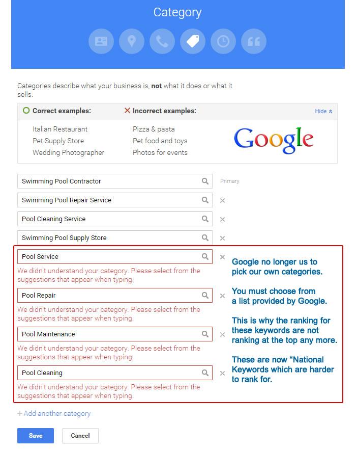 googlecategories